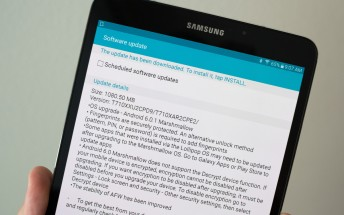 Marshmallow update for the Galaxy Tab S2 makes it to the US