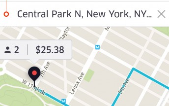 Uber ditching fare estimation in favor of upfront pricing