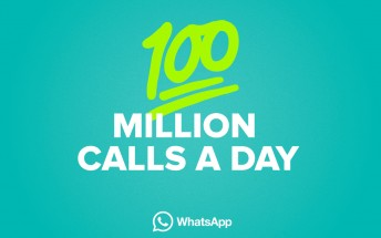 100 million voice calls are made in WhatsApp every day