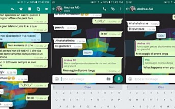 WhatsApp testing quote messages in replies