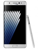Samsung Galaxy Note7 in silver