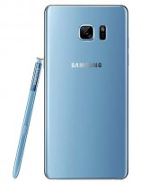 Samsung Galaxy Note7 in blue