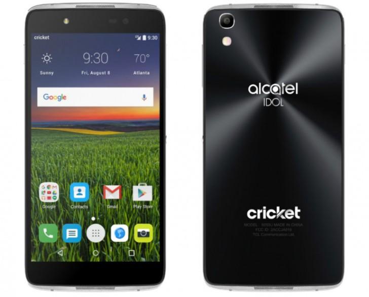alcatel thần tượng 4 độc quyền vùng đất ở Cricket trên 05 tháng 8 với VR tai nghe