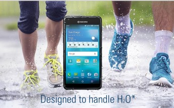 Kyocera Hydro Shore is a waterproof smartphone that costs just $80