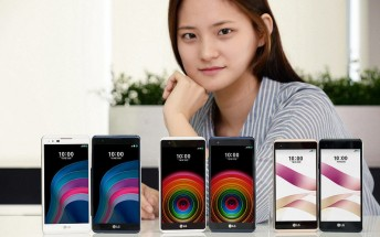 LG unveils X5 and X Skin mid-rangers