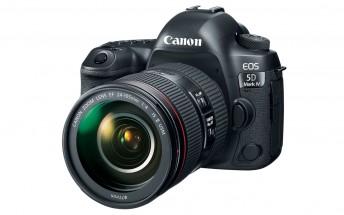 Canon announces 5D Mark IV