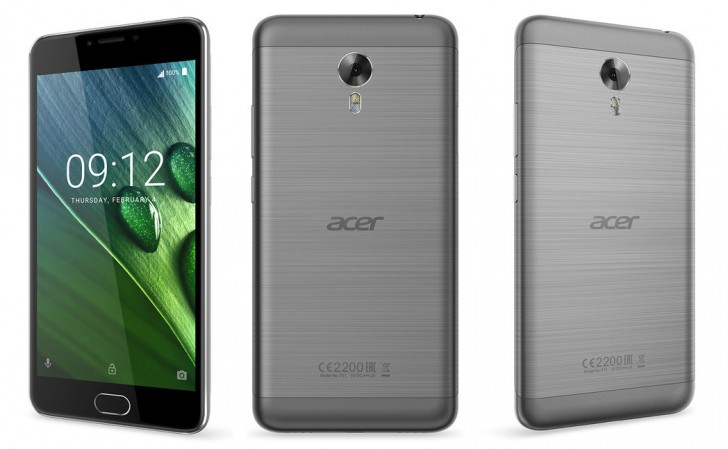 Acer Z6 Plus unveiled with 4080mAh battery at IFA 2016