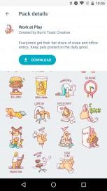 Some sticker packs for Google Allo