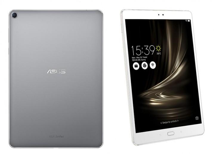 ASUS ZenPad 3S 10 tablet and ZenScreen portable monitor ...