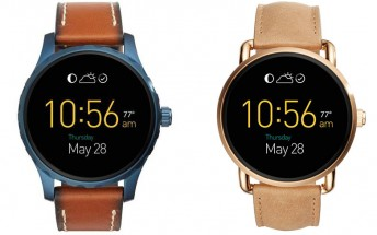 Fossil Q Wander and Q Marshal Android Wear watches go up for pre-order on August 12