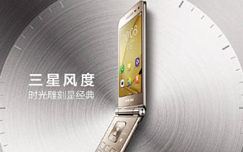 Promotional images for Samsung Galaxy Folder 2 leak online