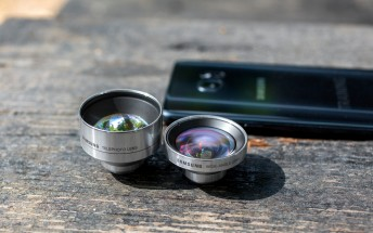Samsung Galaxy Note7 and Lens cover: testing the add-on lenses