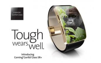 Corning announces Gorilla Glass SR+ for wearables