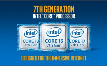 Intel announces 7th generation 'Kaby Lake' processors