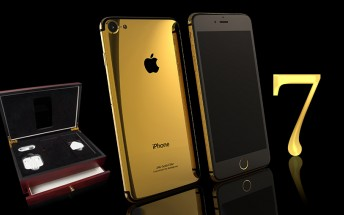 Gilded iPhone 7 on pre-order - 7, Plus and Pro, 256GB rumored too