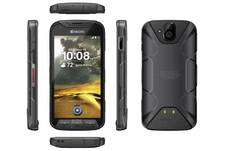 Kyocera's new rugged handset doubles an action cam