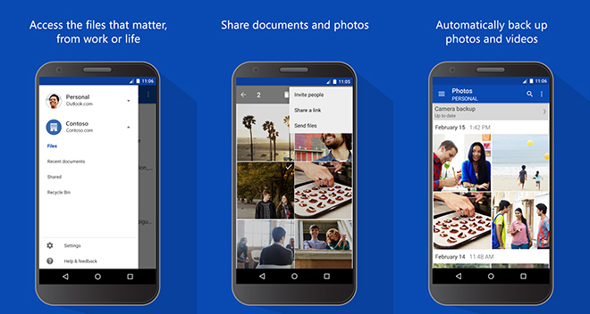 Onedrive S Android Client Now Lets You Preview Your Office