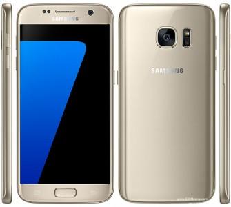 Plain, regular gold: Samsung Galaxy S7