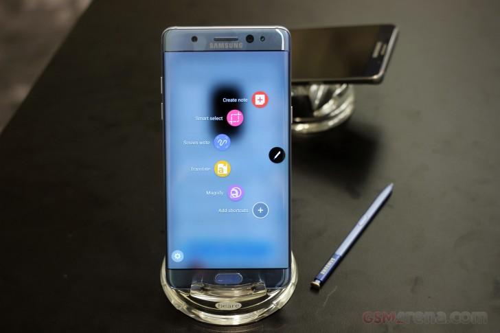 Hàn Quốc relaunch Samsung Galaxy Note7 đã được đẩy lùi