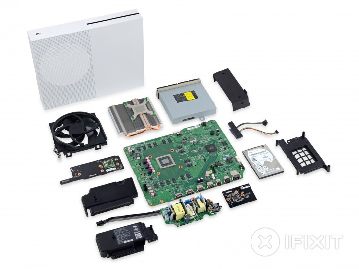 Android Apps: Xbox One S teardown yields 8 out of 10 repairability score