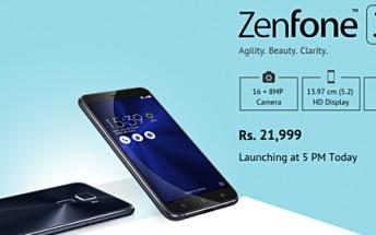 Online retailer jumps the gun, reveals Asus Zenfone 3 India pricing ahead of launch