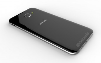 Samsung Galaxy A8 (2016) gets shown in leaked renders