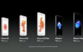 Apple iPhone 7 pricing and availability, pre-order on September 9