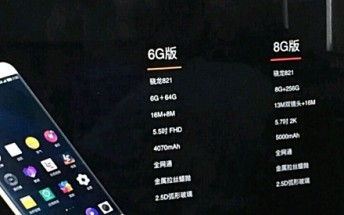 New leak reveals LeEco Pro 3 variant with 8GB RAM and 256GB storage