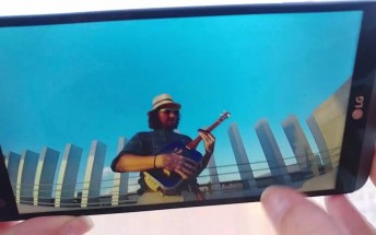 LG V20 caught on video in good working order