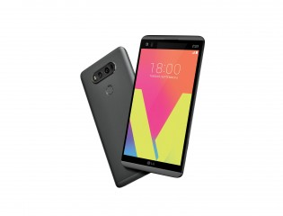 The LG V20 looks fresh
