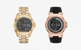 Michael Kors releases two Android Wear smartwatches