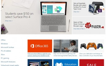 Lumia smartphones removed from Microsoft Store homepage