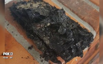 Florida man's Jeep goes up in flames because of Note7