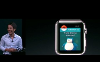 """Pokemon Go coming to the Apple watch, Go Plus accessory coming """"this month"""""""