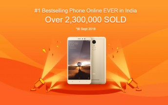 Xiaomi Redmi Note 3 becomes a bestseller in India