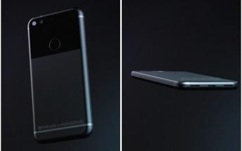 Google Pixel 'Sailfish' leaks in 3D renders and 360-degree video