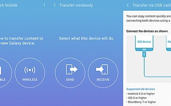 Samsung's Smart Switch app now lets you transfer data from WP 8.1 devices as well