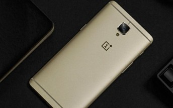 Soft Gold OnePlus 3 launching in India on October 1