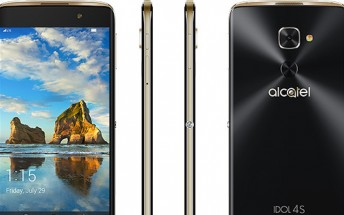 New leak reveals November 10 launch and $470 price tag for Alcatel Idol 4S