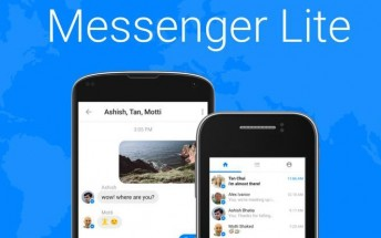 Facebook unveils Messenger Lite for Android