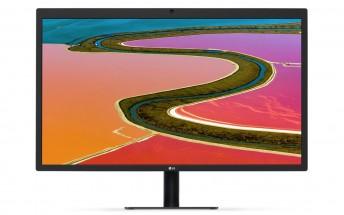 LG announces UltraFine 5K and 4K monitors for Macs