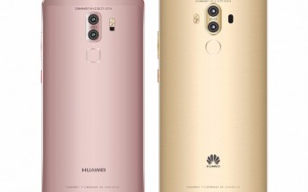 Huawei Mate 9's back allegedly leaks showing two different designs