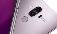 Huawei Mate 9 looking good in purple in what appears to be an official render