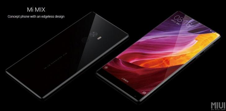 Xiaomi Mi thông báo MIX với màn hình không viền