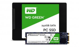 Western Digital's first SSDs: Green