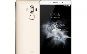 6-inch ZTE Axon 7 MAX leaks in official renders and banners