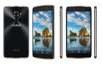 Alcatel officially announces the IDOL 4S with Windows 10 and VR for T-Mobile, release on November 10