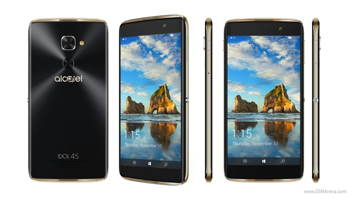 Alcatel Idol 4S with Windows 10 is officially announced for $470