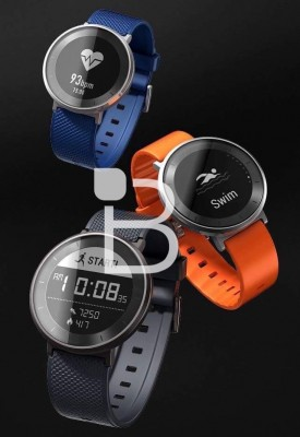 Huawei Honor S1 smartwatch with an e-paper display