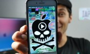 There is a 5sec video that will render any iPhone inoperable